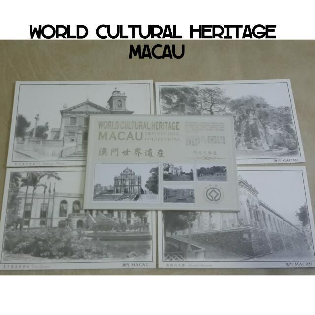 World Cultural Heritage Macau Postcard Set / Kartu Pos Warisan Budaya Dunia