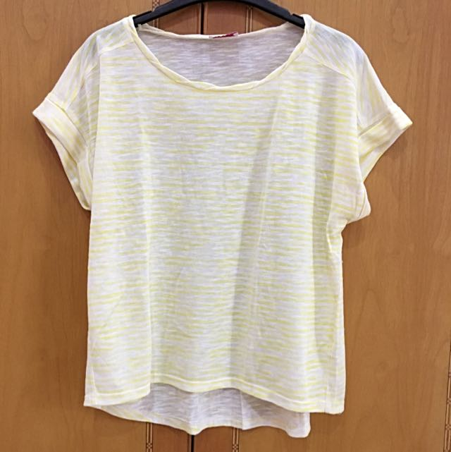 Yellow Stripes Tshirt