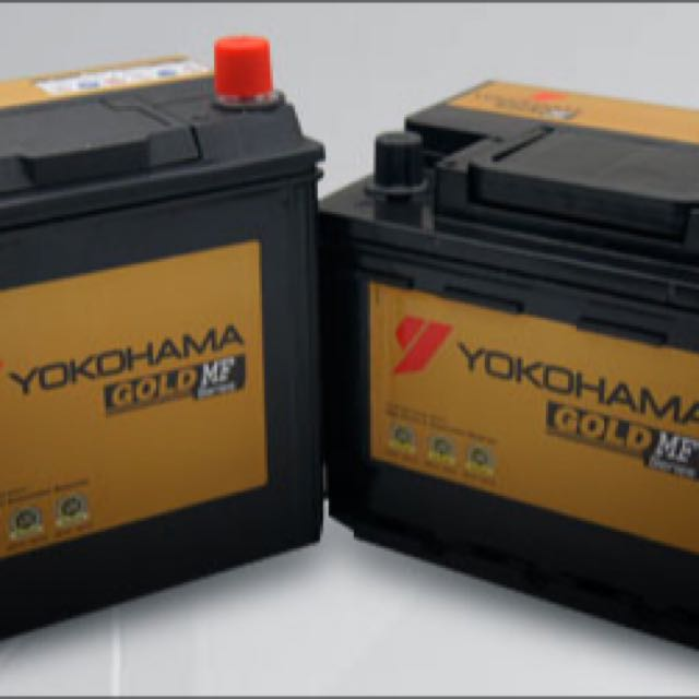 Yokohama Gold Maintenance Free Battery Ns40 Ns60 Auto Accessories