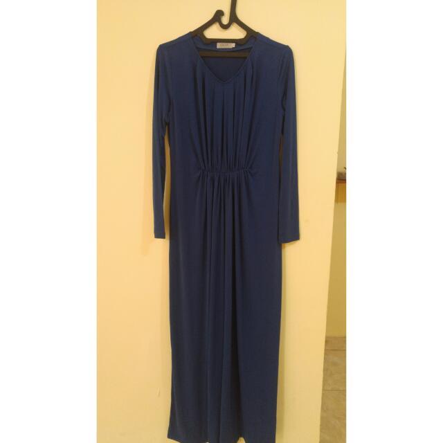 Zalia Dress Blue