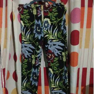 Nature Print Pants