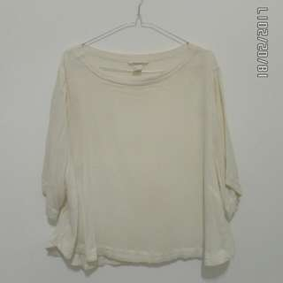 H&M - white blouse