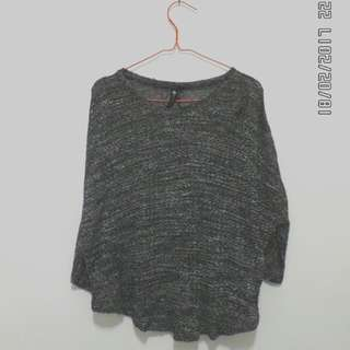Cotton on - knit batwing black