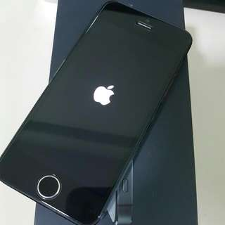 Iphone 5 with Mont Blanc Case