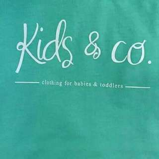KIDS & CO. KAOS ANAK ANTI AIR 100% ORIGINAL