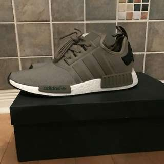 nmd r1 olive green size12