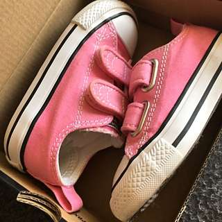 Toddler Converse All Stars in Pink