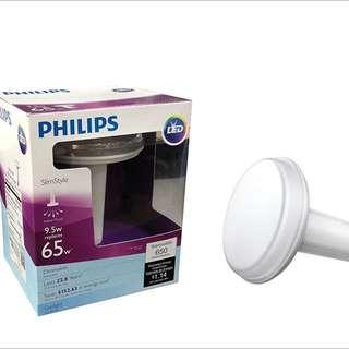 Brand new Philips 452466 65 Watt Equivalent Slim Style BR30 LED Dimmable Daylight Light Bulb!!