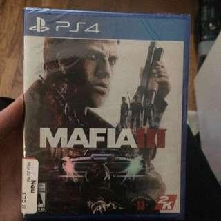 Mafia 3 ps4 unopened