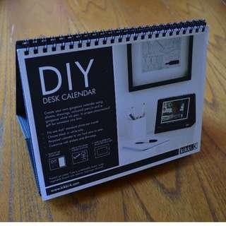 Kikki k DIY desktop calendar