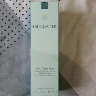 ESTEE LAUDER NEW DIMENSION  shape+fill Expert SERUM 100ml