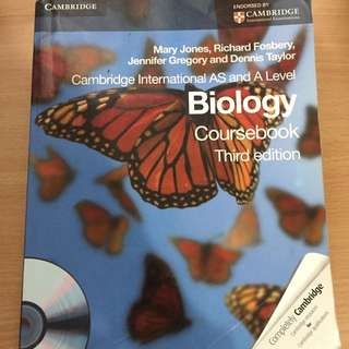 Biology AS and A Level Cambridge