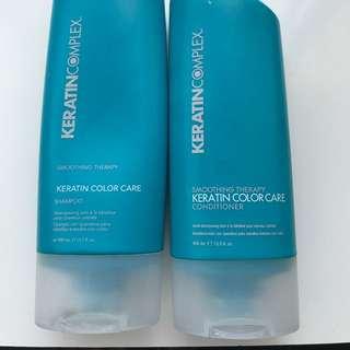 Keratin Colour Shampoo And Conditioner