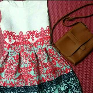 Tea Time Floral Dress