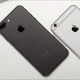 WANT SWAP iPhone 6s Plus 64 GB for any iPhone 7/7 plus