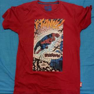 Marvel Comics Spiderman Shirt