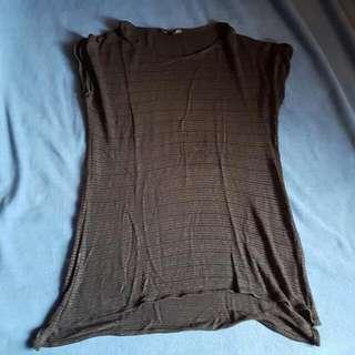 Beach Shirt/dress By Mango