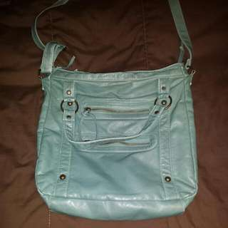 Turquoise Cross-Body Purse