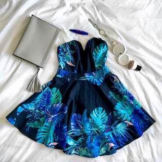 Indikah Blue Dress