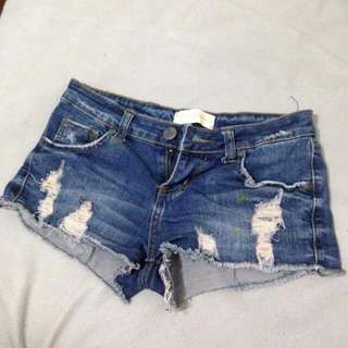 Ripped Hippie Shorts