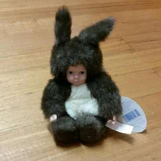 Anne Geddes Baby Squirrel Doll/Plush
