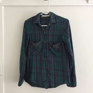 Zara Flannelette Shirt