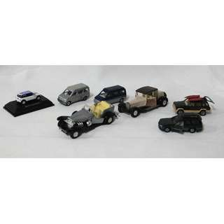 Tomica and other collectible cars