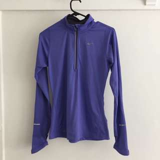 Nike Long sleeve 1/2 Zip Running Top