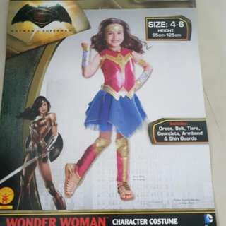 Rental Of Wonder Woman Costume