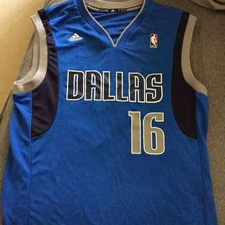 NBA達拉斯小牛隊射手佩價球衣