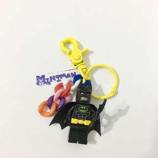 售出 Miniman手作飾品 積木人偶鑰匙圈 樂高相容