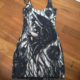 Black milk Mechanical Dress
