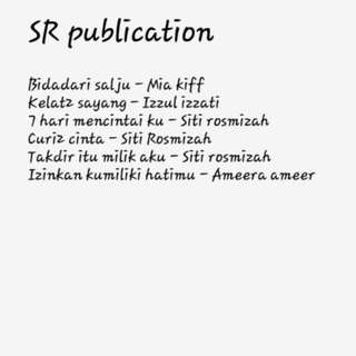 Hot seller Siti rosmizah novel