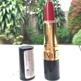 REPRICED Revlon Super Lustrous Lipstisck - shade of Certainly Red