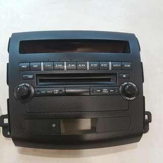 Mitsubishi Outlander Radio Set W/O Speakers