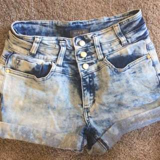 Mirrou Denim shorts