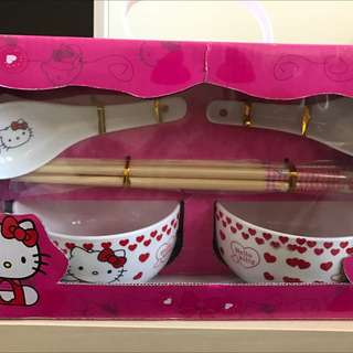 Hello Kitty 餐具組