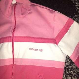 Vintage Pink Adidas Sweater