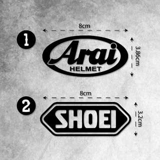 Arai / Shoei Stickers