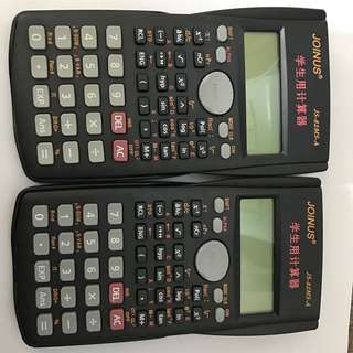 2 X New Scientific Calculator