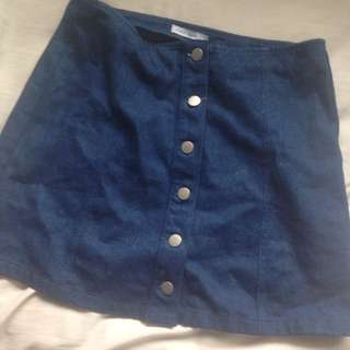 Womens Pare-basic Denim Skirt Size 10