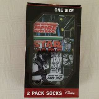 Star Wars 2 Pack Socks