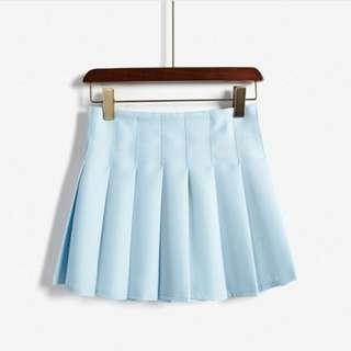 Blue Tennis Skirt
