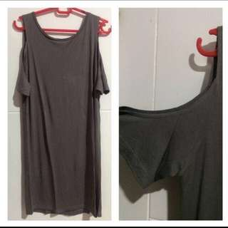 Zara dress off shoulder