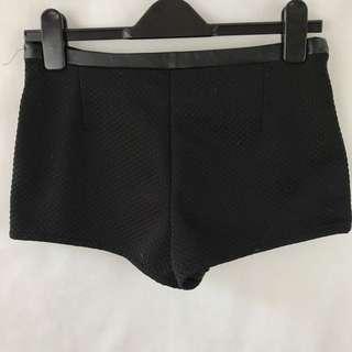 H&M - Black Shorts