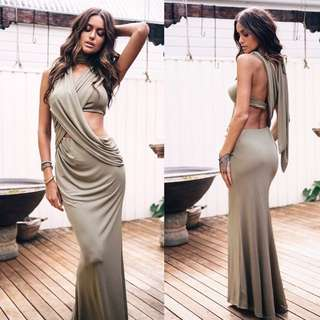 Sabo Skirt Milan Draped Gown