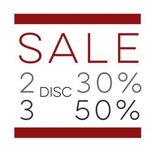 CLEARENCE SALE !!!