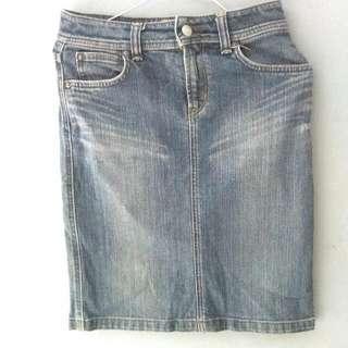 Midi Skirt Jeans