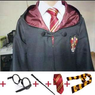 Pre order - Cosplay Harry Potter Lengkap