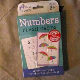 Flash Card Angka